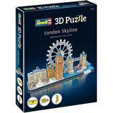 3D-Jigsaw Puzzles Revell 3D Puzzle London Skyline 107 Pieces