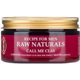Hair Wax Recipe for Men RAW Naturals Call Me Clay 100ml