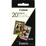 Instant Film Canon Zink Photo Paper 20 Sheets