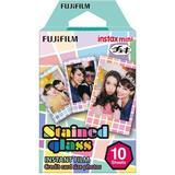 Instant Film Fujifilm Instax Mini Film Stained Glass 10 pack