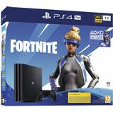 Stationary Deals Sony PlayStation 4 Pro 1TB - Fortnite Neo Versa Bundle