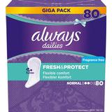 Pantiliners Always Fresh & Protect Normal 80-pack