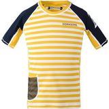 Children's Clothing Didriksons Surf UV T-shirt - Yellow Simple Stripe (502473-944)