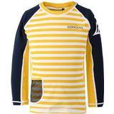 Children's Clothing Didriksons Surf Kid's Long Sleeve UV Top - Yellow Simple Stripe (502471-944)