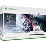 Xbox One Game Consoles Deals Microsoft Xbox One S 1TB - Star Wars Jedi: Fallen Order Bundle