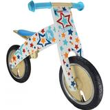 Balance Bicycles Kiddimoto Stars Kurve Wooden Balance Bike