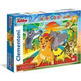 Clementoni Supercolor Maxi the Lion Guard 24 Pieces