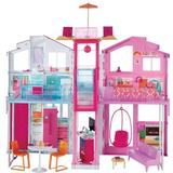 Barbie doll and doll house Toys Barbie 3 Storey Townhouse