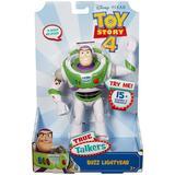 Toy Figures Mattel Disney Pixar Toy Story 4 True Talkers Buzz Lightyear 18cm