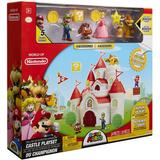 Play Set Nintendo Super Mario Deluxe Mushroom Kingdom Castle