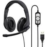 Headphones & Gaming Headsets Hama HS-USB300