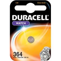 Long-Lasting Battery 364 1.5V Silver Oxide Button Battery 1 Count Duracell