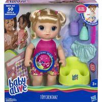 New Baby Alive POTTY DANCE Baby Doll Blonde Straight HAIR w// BONUS