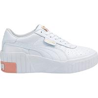 Puma Cali Wedge W - White/Apricot Blush • See price
