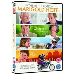 The Best Exotic Marigold Hotel (DVD + Digital Copy)