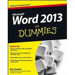 Word 2013 For Dummies (Häftad, 2013), Häftad