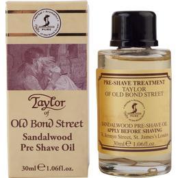 Taylor of Old Bond Street Sandalwood Pre- Shave Oil 30ml