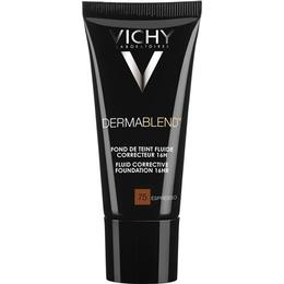 Vichy Dermablend Corrective Fluid Foundation #75 Expresso