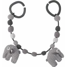 Sebra Crochet Pram Chain Fanto the Elephant