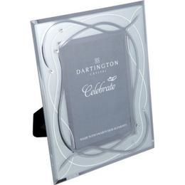 Dartington Celebrate Silver 22.5cm Photo frames