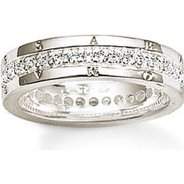 Thomas Sabo Classic Ring - Silver/Transparent