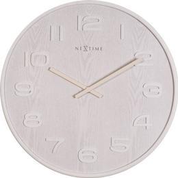 Nextime Wood Wood 53cm Wall clock