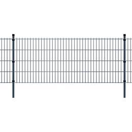 vidaXL 2D Garden Fence Panels & Posts 4mx83cm
