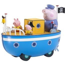 Character Peppa Pig Grandpa Pigs Bathtime Boat