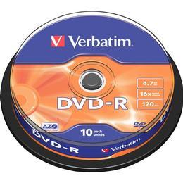 Verbatim DVD-R 4.7GB 16x Spindle 10-Pack