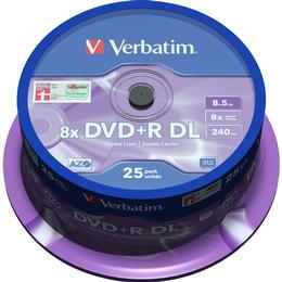 Verbatim DVD+R 8.5GB 8x Spindle 25-Pack