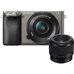 Sony Alpha 6000 + 16-50mm OSS + 50mm
