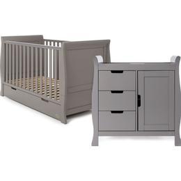 OBaby Stamford Cot Bed Room Set 2pcs