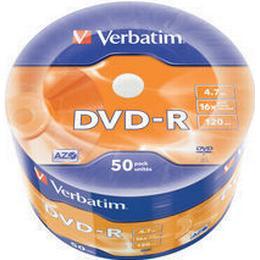 Verbatim DVD-R 4.7GB 16x Spindle 50-Pack