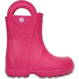 Crocs Kid's Handle It Rain Boot - Candy Pink