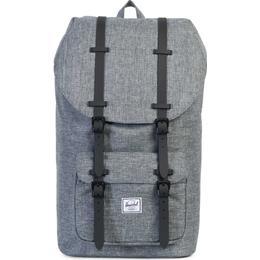 Herschel Little America Backpack - Raven Crosshatch/Black Rubber