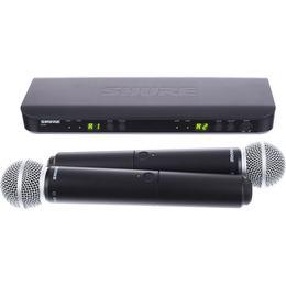 Shure BLX288/SM58 Wireless Dual System