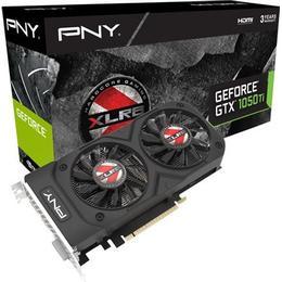 PNY GeForce GTX 1050 Ti 4GB XLR8 OC Gaming 2 (KF105IGTXXR4GEPB)