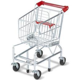 Melissa & Doug Shopping Cart Metal Grocery Wagon