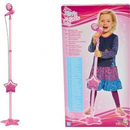 Simba My Music World Girls Microphone Stand
