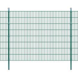 vidaXL 2D Garden Fence Panels & Posts 6mx163cm