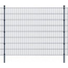 vidaXL 2D Garden Fence Panels & Posts 44mx163cm