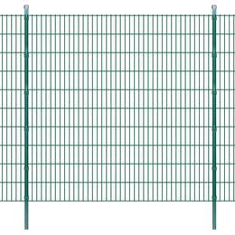vidaXL 2D Garden Fence Panels & Posts 48mx203cm