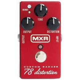 Jim Dunlop M78 MXR Custom Badass 78 Distortion