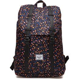 Herschel Retreat Mid-Volume Backpack - Black Mini Floral