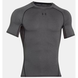 Under Armour HeatGear Armour Short Sleeve Compression Shirt - Gray