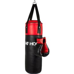 My Hood Punching Bag With Gloves Jr 10kg