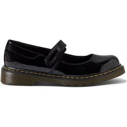 Dr Martens Junior Maccy Patent Mary Jane - Black