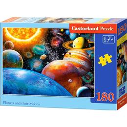 Castorland Planets & Their Moons 180 Pieces
