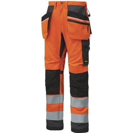 Snickers Workwear 6230 High-Vis Work Trousers