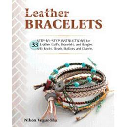 leather bracelets step by step instructions for 33 leather cuffs bracelets